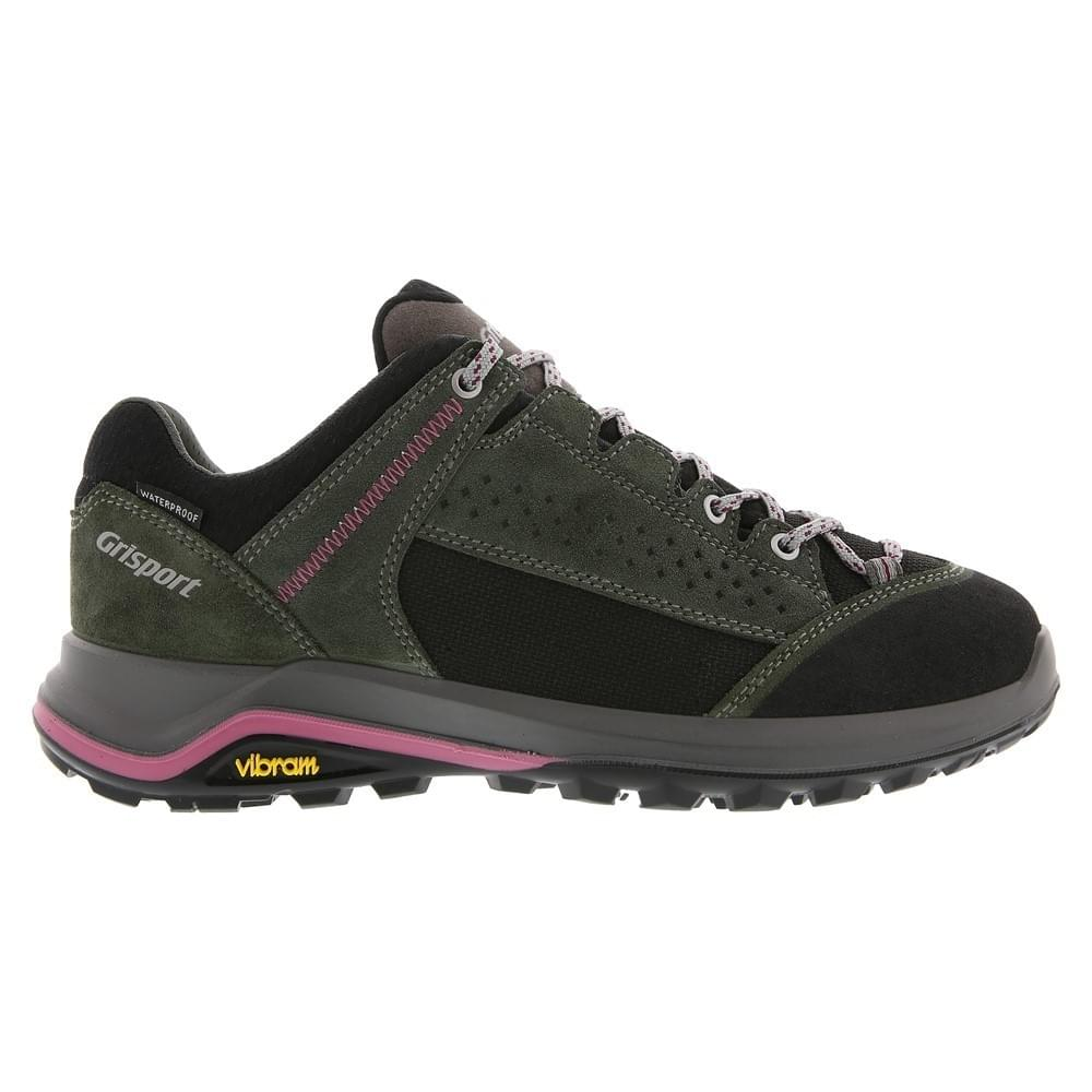 Grisport Schoen Siena Low mt 37 Green-Pink
