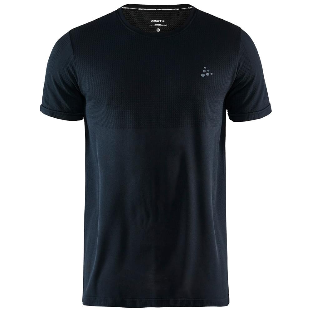 Craft Fuseknit Light RN SS Shirt Heren Zwart