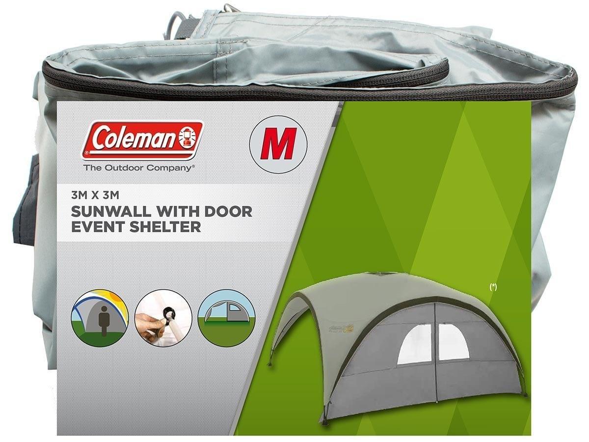 Event Shelter M - Sunwall w Door - Silver