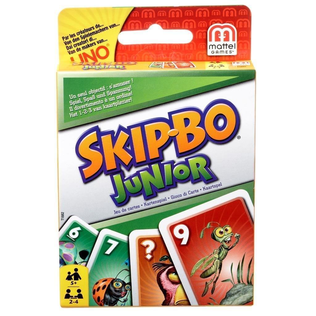 Mattel Skip-Bo Junior Kaartspel