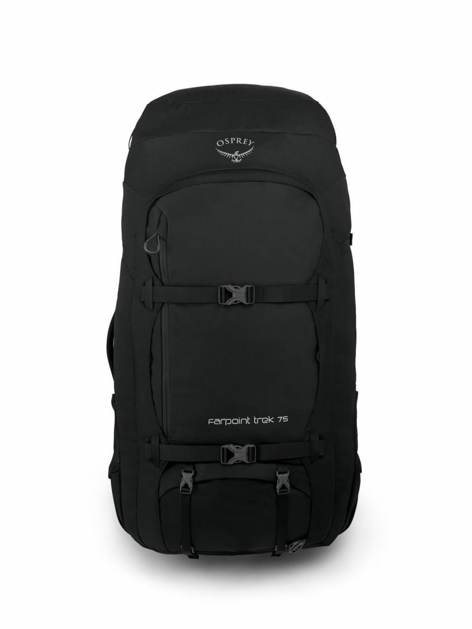 Osprey Farpoint Trek 75 Rugzak - Zwart