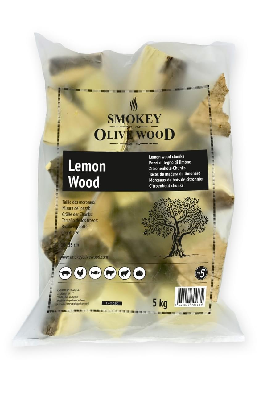 Smokey Olive Wood Chunks No.5 Citroenhout