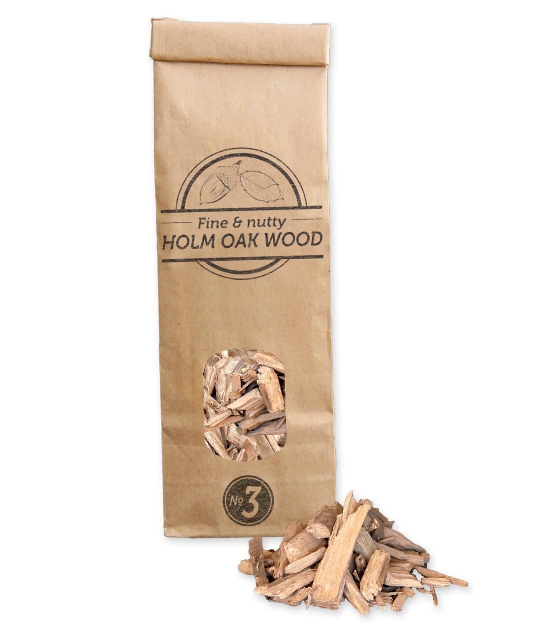 Smokey Olive Wood Rookchips No.3 Steeneik Hout