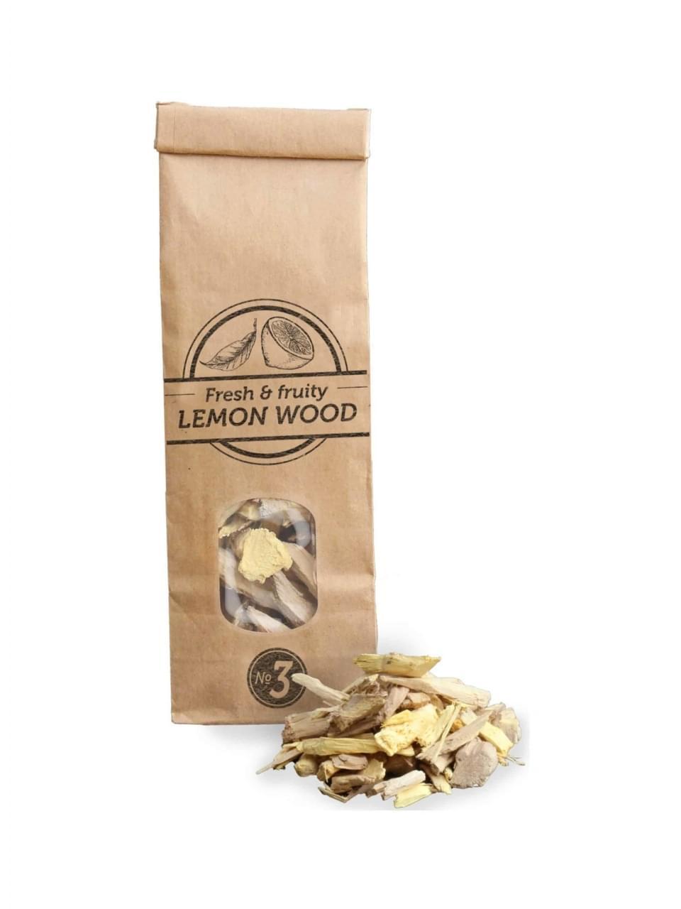 Smokey Olive Wood Rookchips No.3 Citroenhout