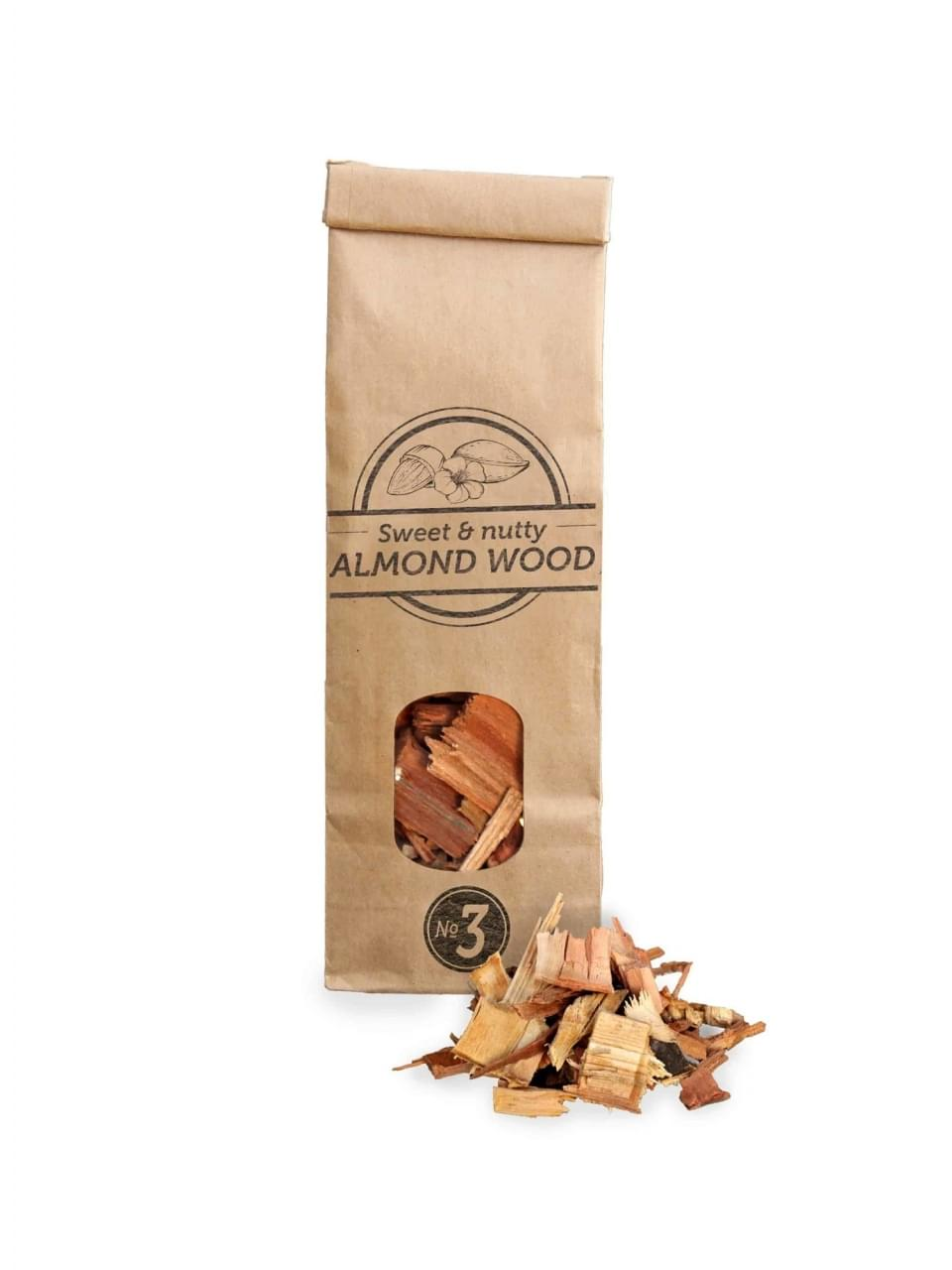 Smokey Olive Wood Rookchips No.3 Amandelhout