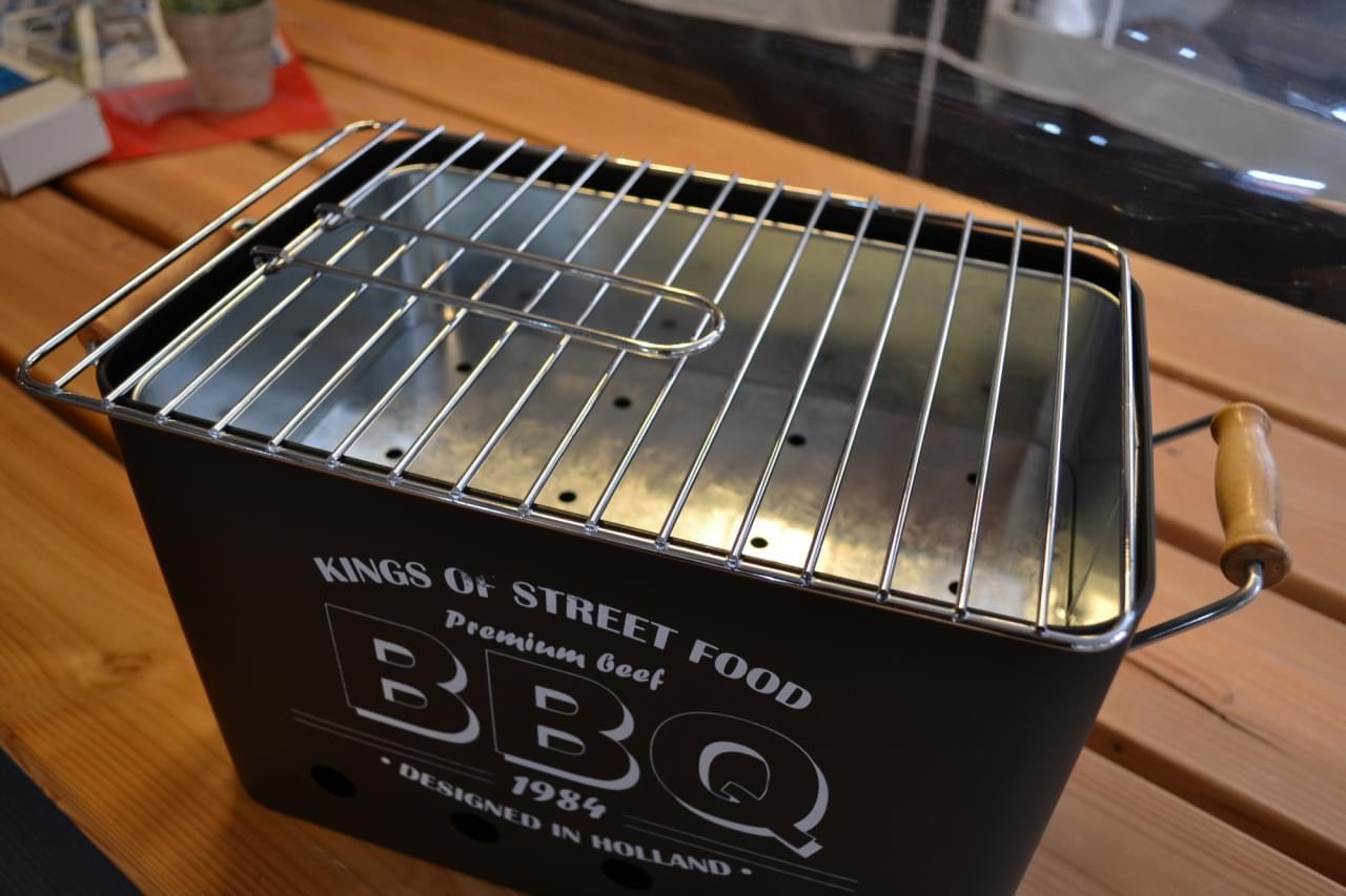 ML Tafelmodel Barbecue / Houtskool Barbecue