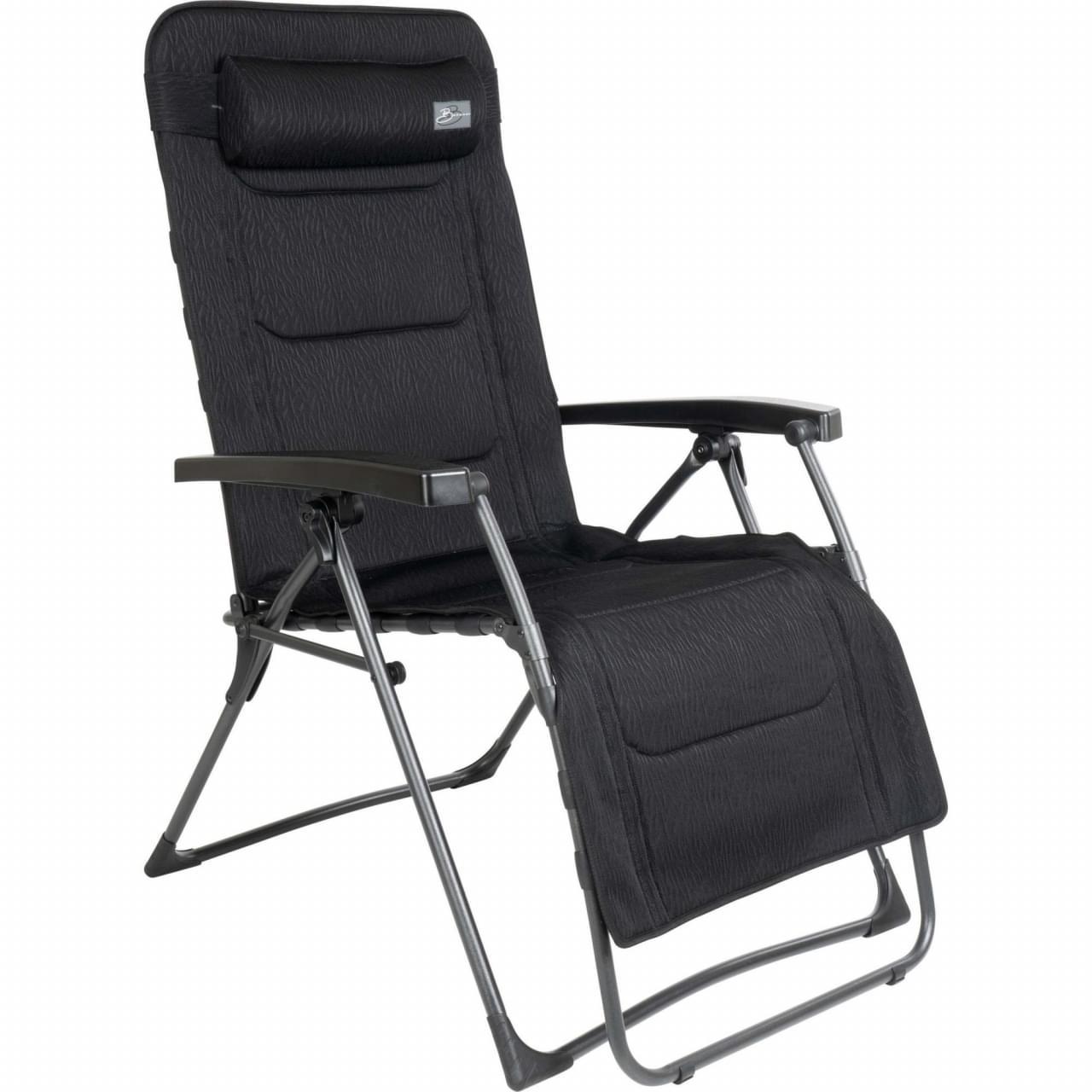 Bardani Riposo Clip 3D Comfort Relaxstoel - Zwart