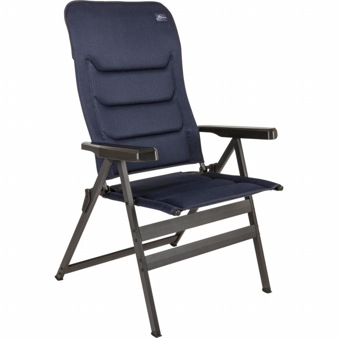 Bardani Bernardo XL 3D Comfort Campingstoel - Blauw