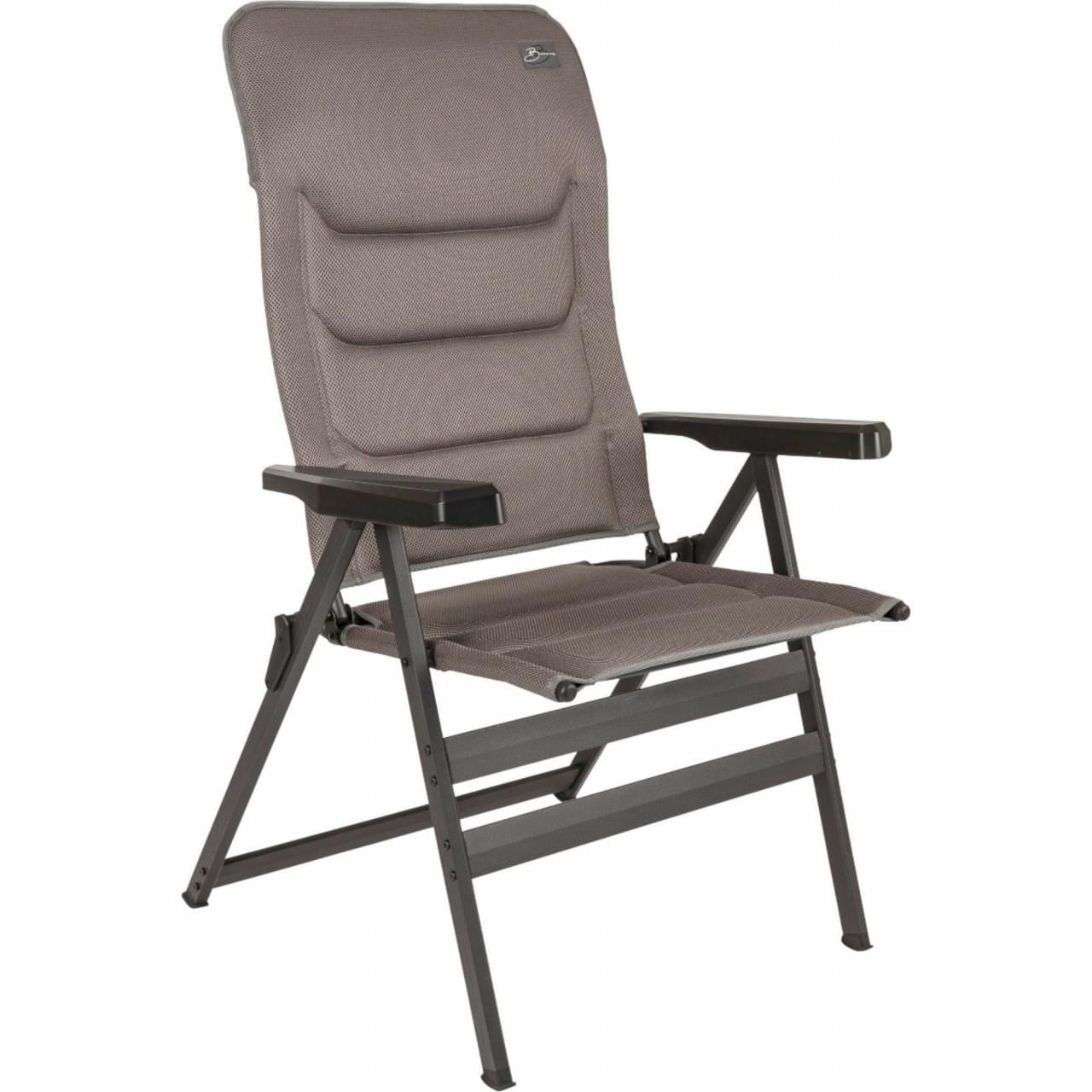 Bardani Bernardo XL 3D Comfort Campingstoel - Grijs