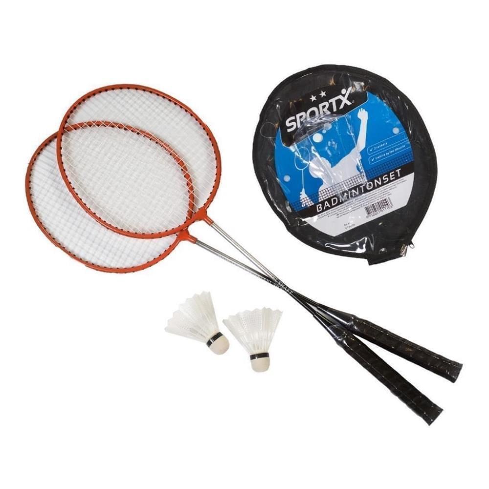 Sportx Badmintonset incl 2 shuttles