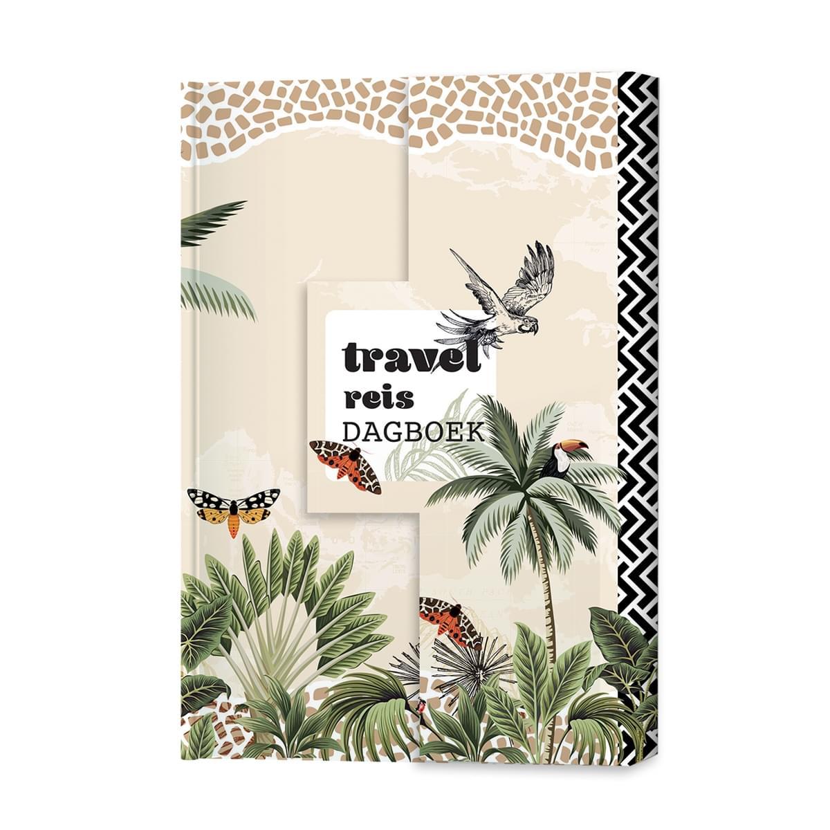 ML Travel Reisdagboek 17,7 x 12,9 x 2,4 cm