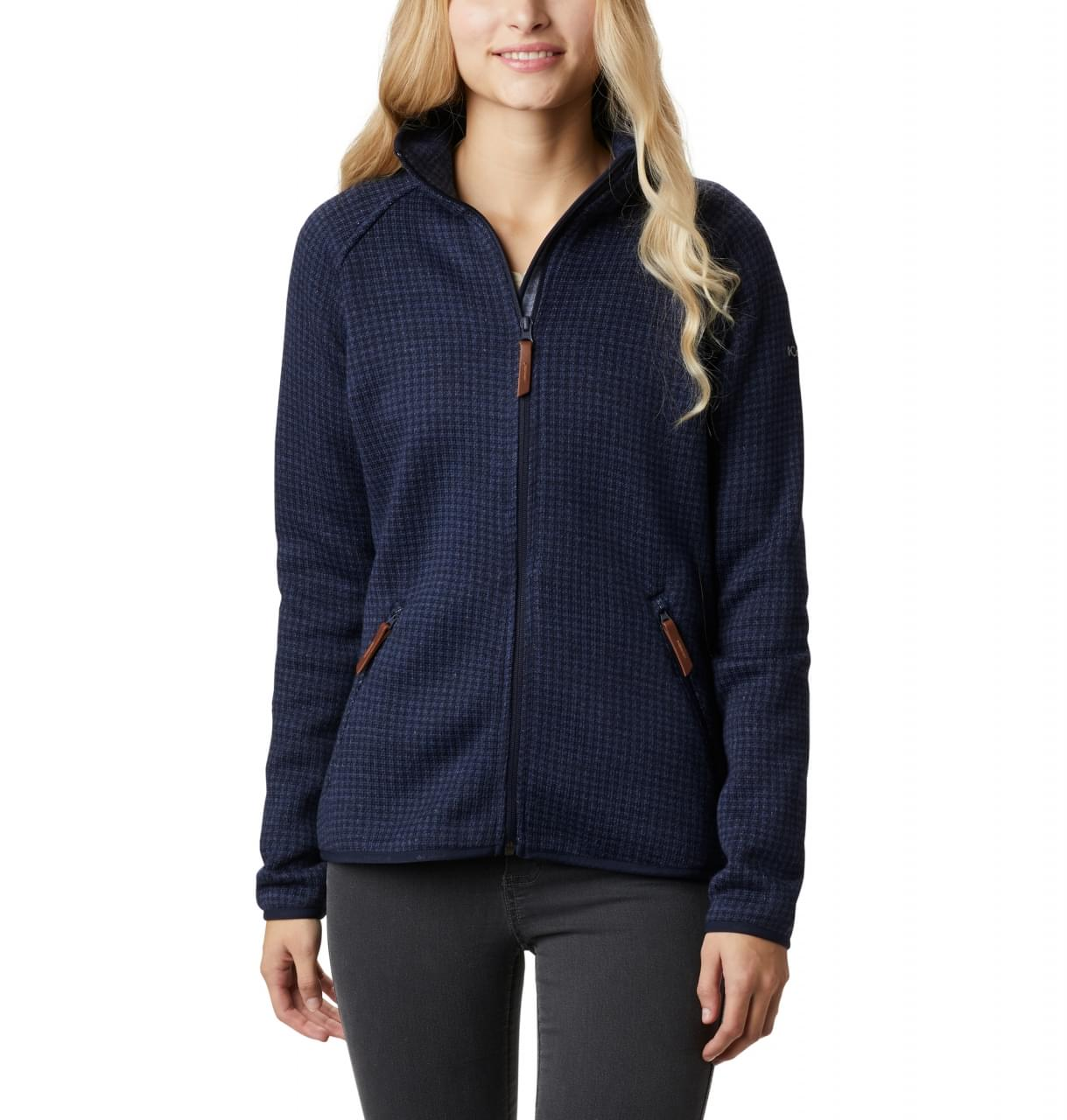 Columbia Chillin Fleece Fleece Jacket Dames Blauw