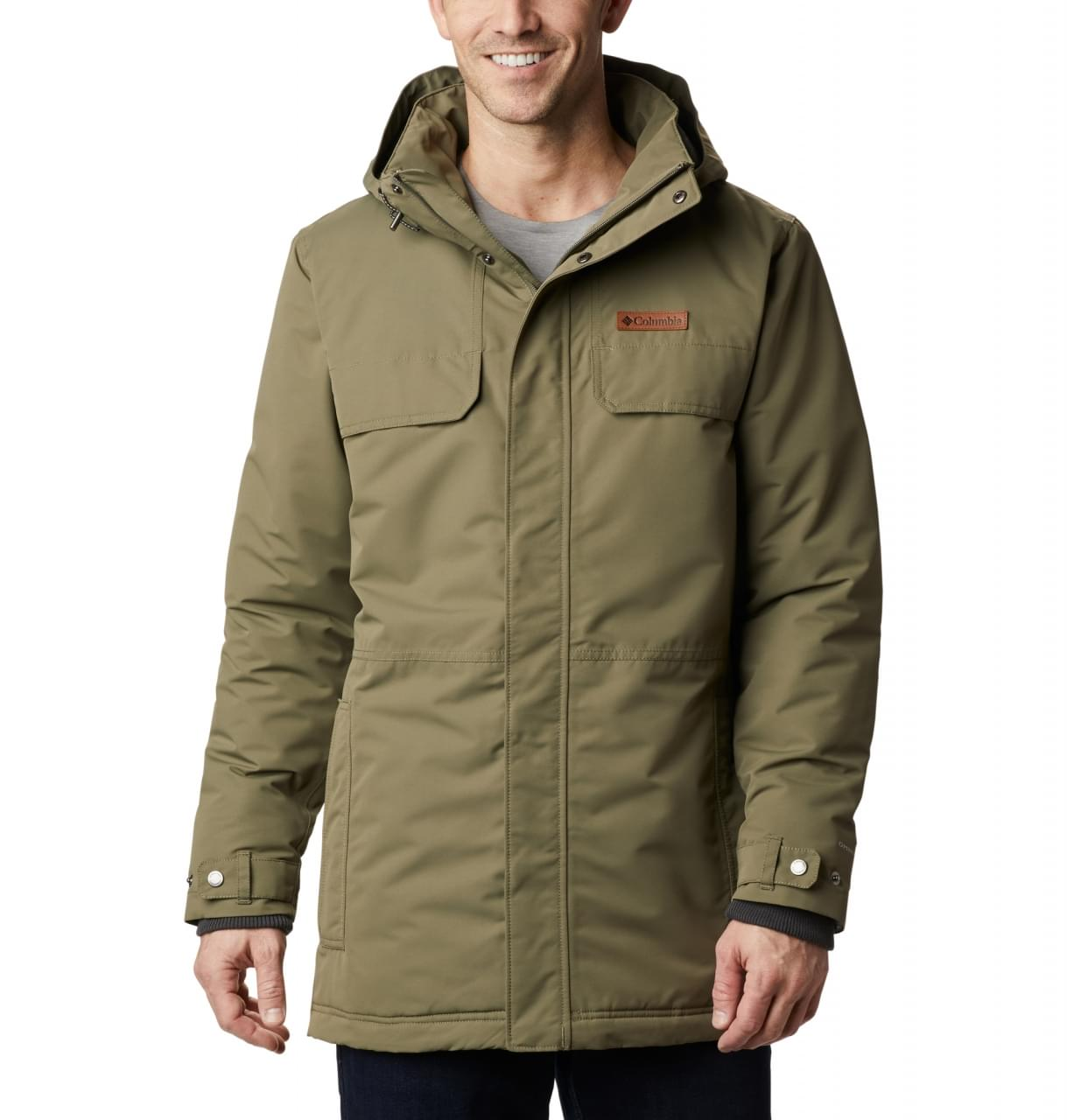 Columbia Rugged Path Parka Winterjas Heren - Groen [color]