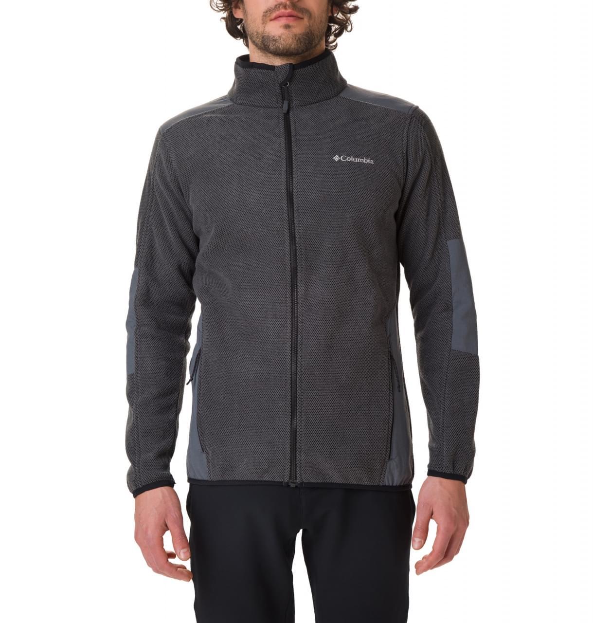 Columbia Tough Hiker Full Zip Fleece Jacket Heren Zwart