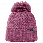 Jack Wolfskin Highloft Knit Muts Dames - Roze [color]