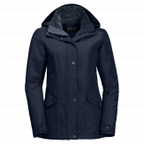 Jack Wolfskin Park Avenue Winterjas Dames - Blauw [color]