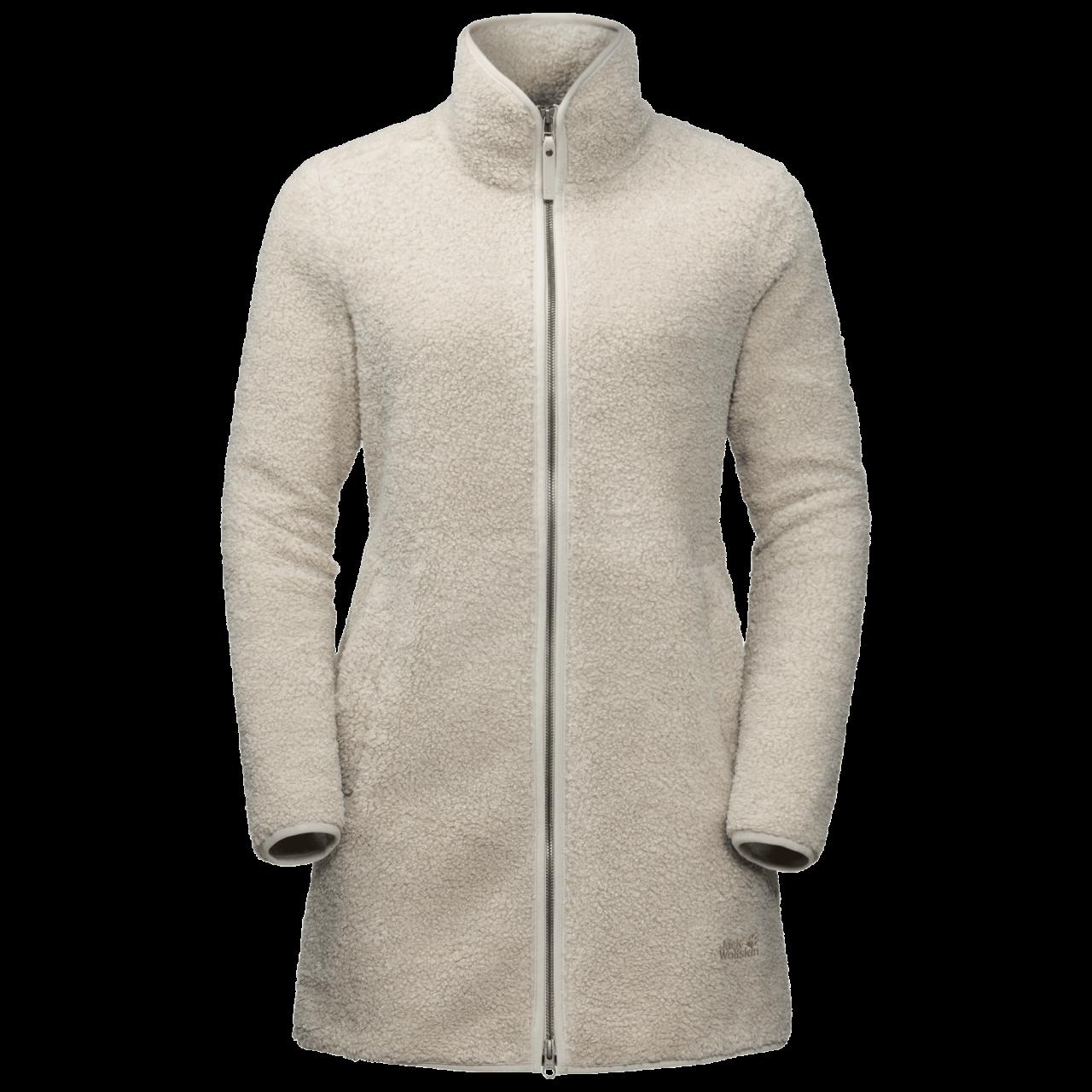Jack Wolfskin High Cloud Fleece Jacket Dames Grijs