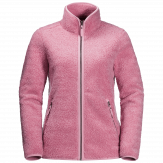Jack Wolfskin High Cloud Fleece Jacket Dames Roze