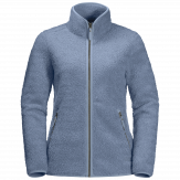 Jack Wolfskin High Cloud Fleece Jacket Dames - Blauw [color]