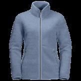Jack Wolfskin High Cloud Fleece Jacket Dames Blauw