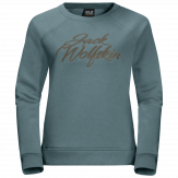 Jack Wolfskin Winter Logo Sweater Dames Blauw