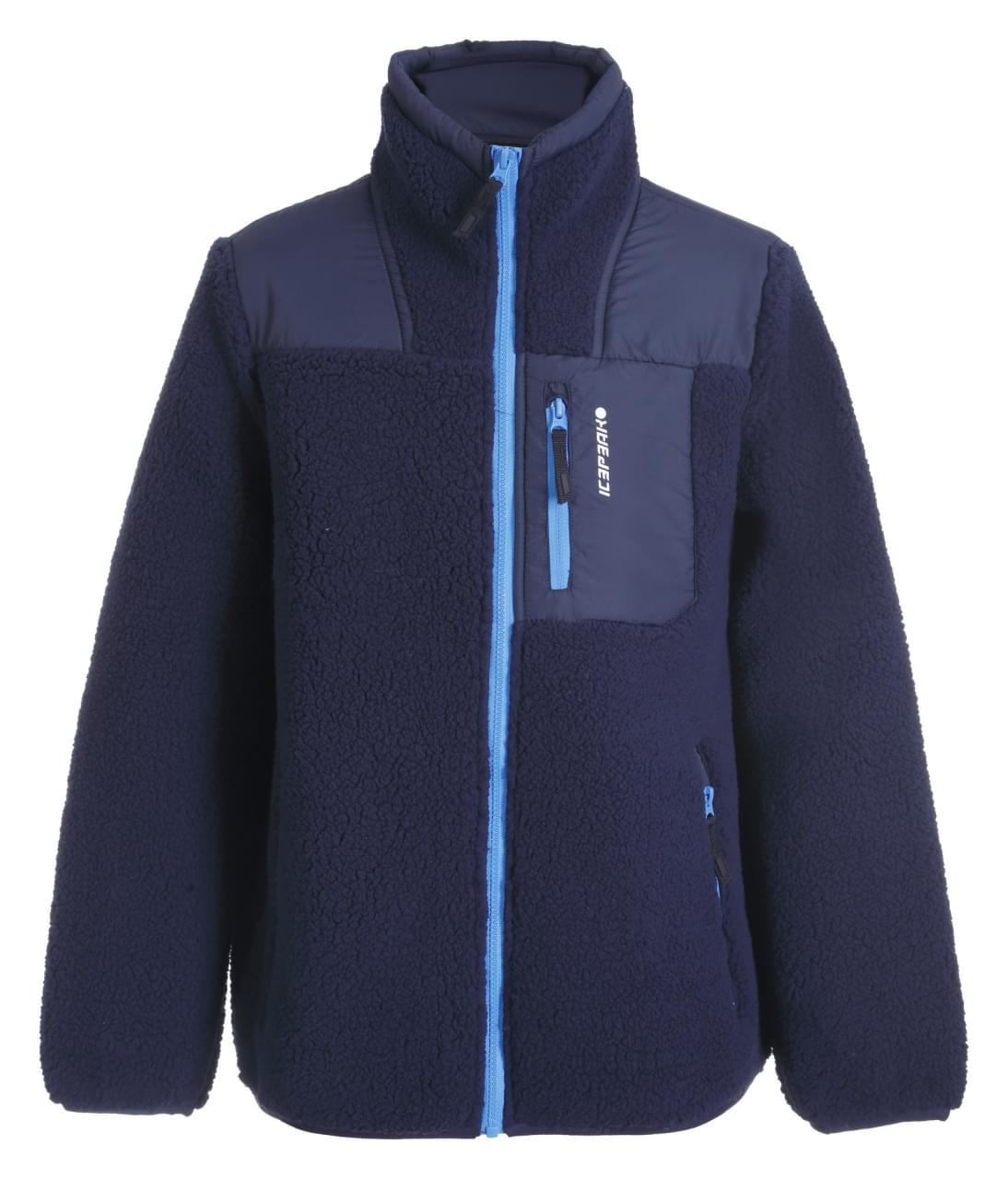 Icepeak Kerrville Fleece Jacket Jongens Blauw