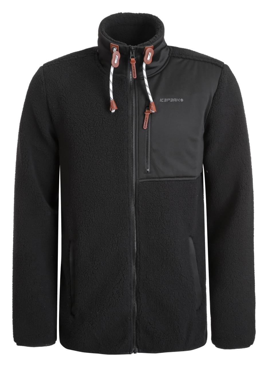 Icepeak Cowarts Fleece Jacket Heren Zwart