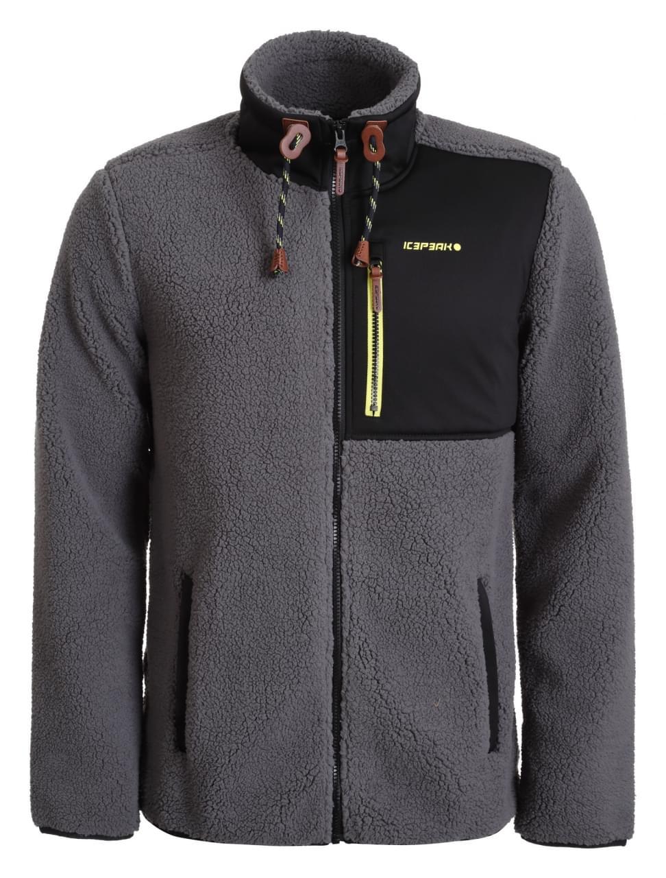 Icepeak Cowarts Fleece Jacket Heren Grijs