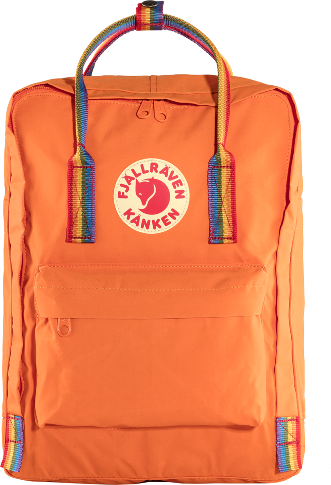Fjallraven Kanken Rainbow Rugzak Oranje