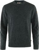 Fjallraven Övik Round-neck Sweater Heren Grijs