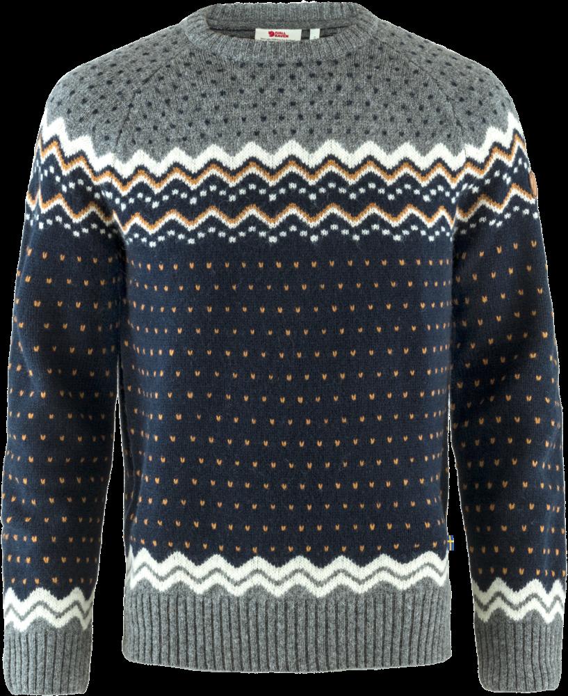 Fjallraven Ovik Knit Sweater Heren Blauw