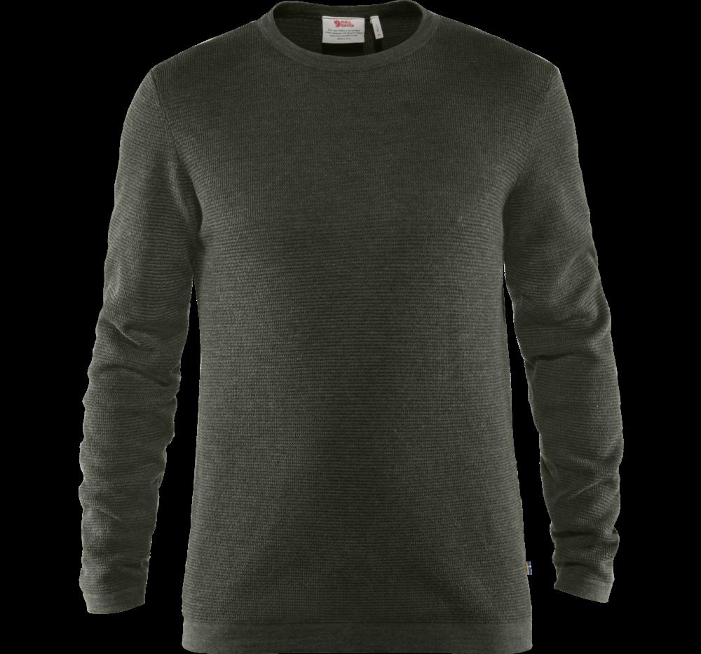 Fjallraven High Coast Merino Sweater Heren Donkergroen