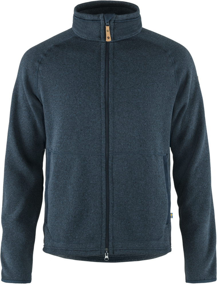 Fjallraven Ovik Fleece Jacket Heren Blauw