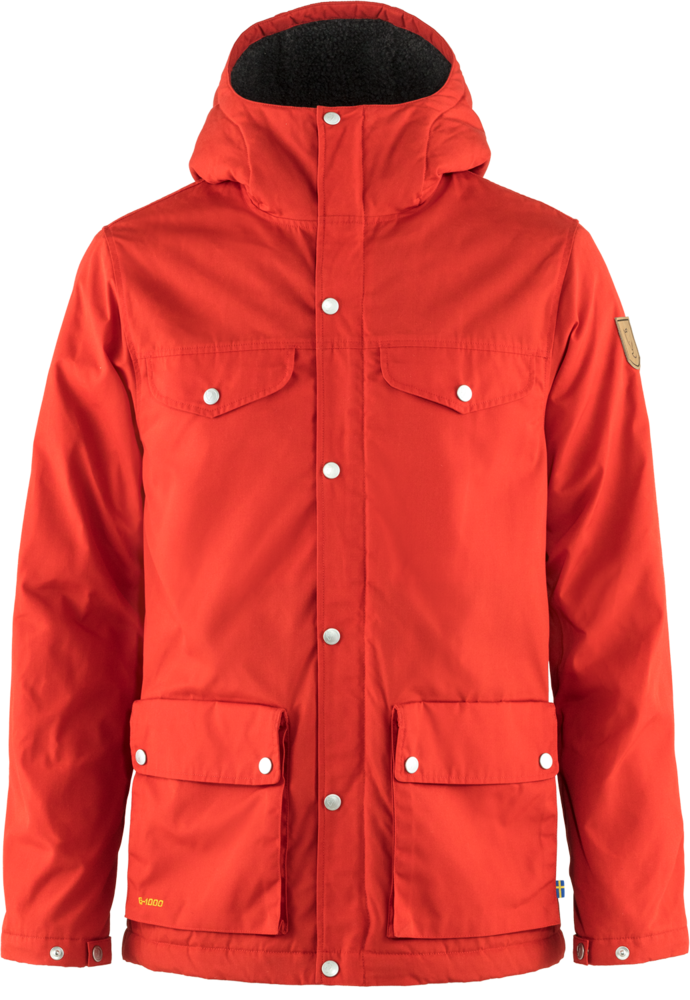 Fjallraven Greenland Winterjas Heren Rood