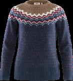 Fjallraven Ovik Knit Sweater Dames Blauw