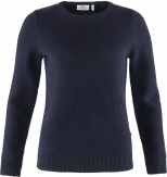 Fjallraven Övik Structure Sweater Dames Blauw