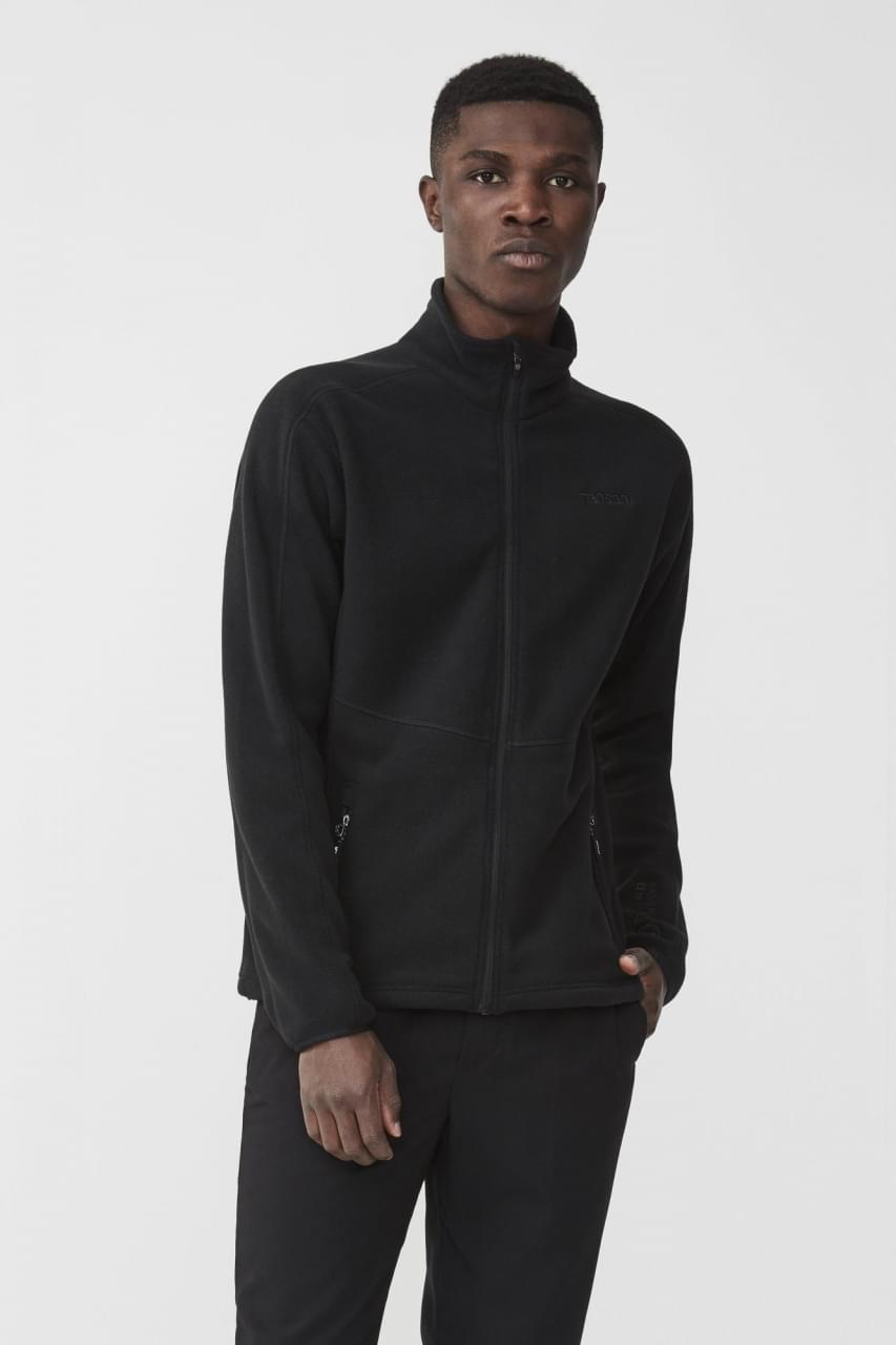 Tenson Miracle Fleece Jacket Heren Zwart