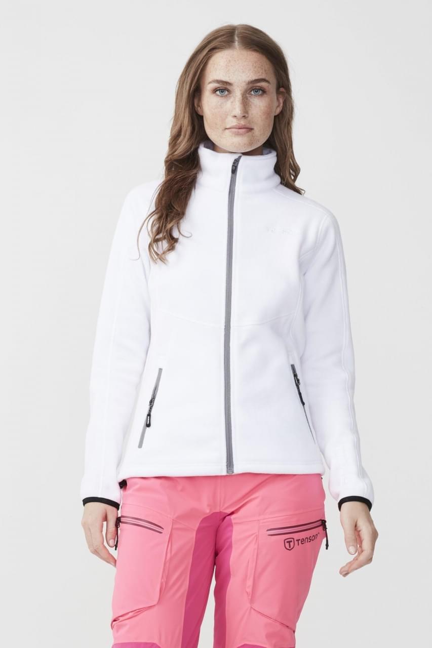 Tenson Miracle Fleece Jacket Dames Grijs