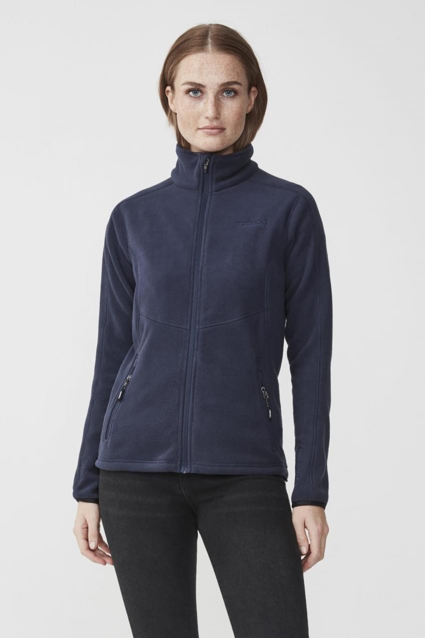 Tenson Miracle Fleece Jacket Dames Blauw