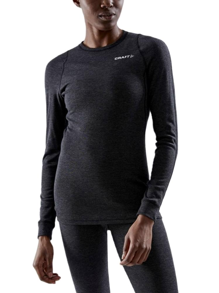 Craft Core Merino Baselayer Set Dames Zwart
