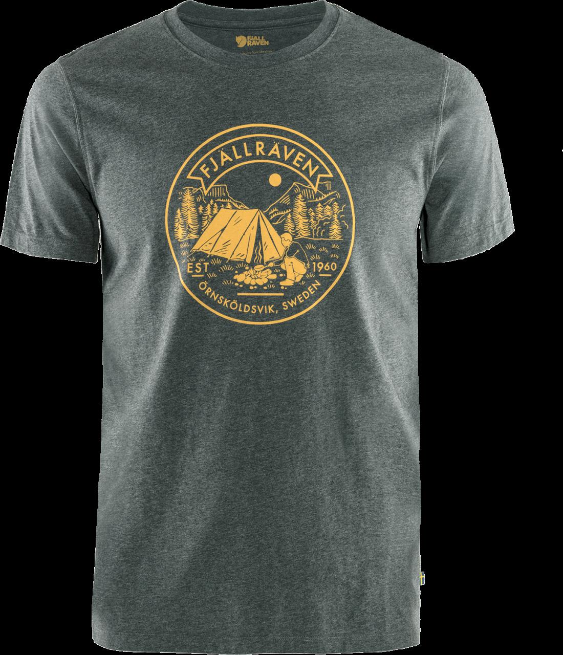 Fjallraven Lagerplats T-shirt Heren Grijs