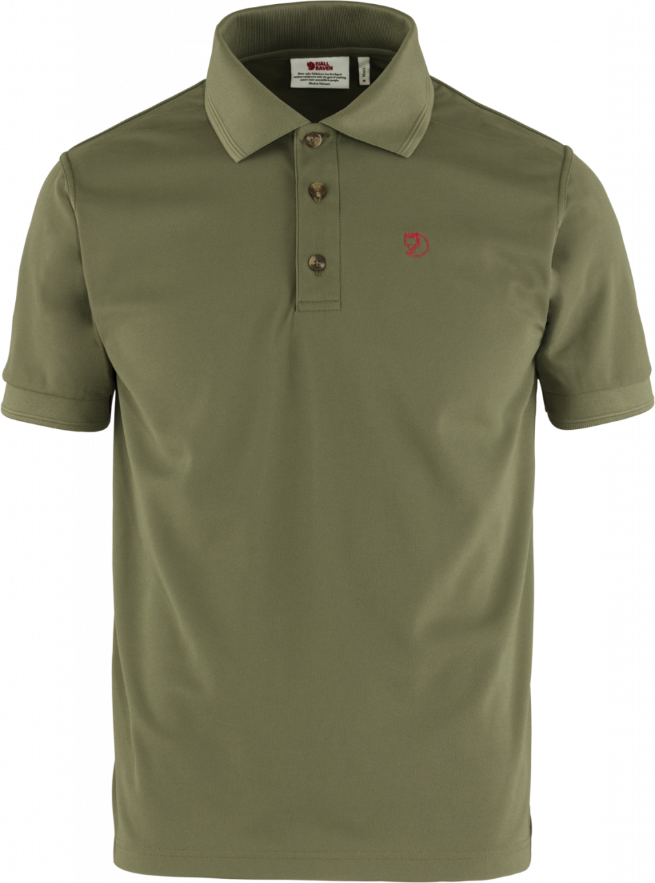 Fjallraven Crowley Pique Polo Heren Groen