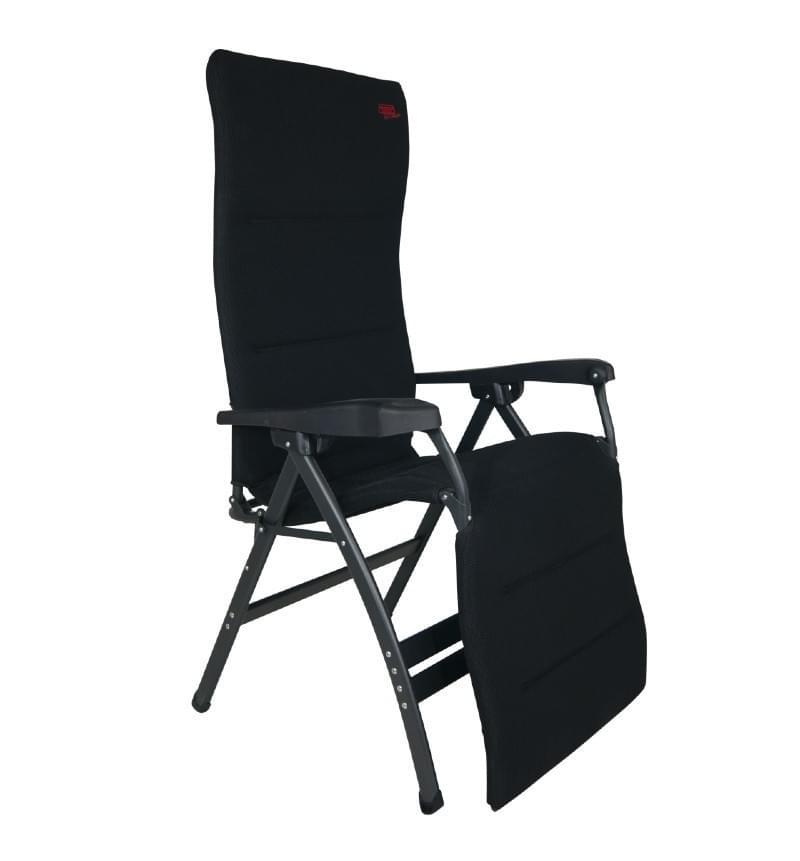 Crespo AP-252 XL Air Deluxe Relaxstoel Zwart
