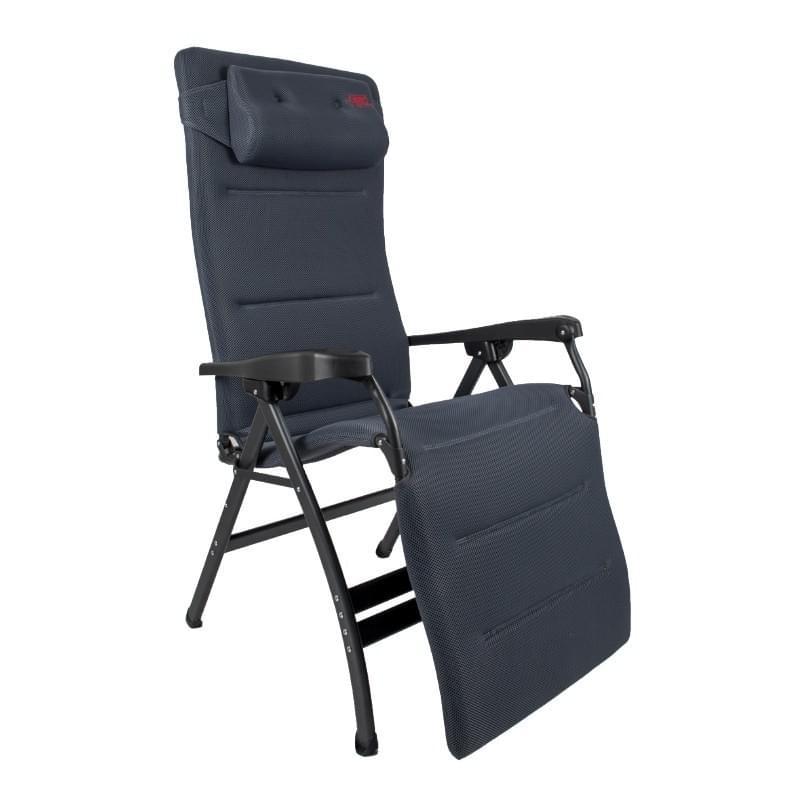 Crespo AP-252 XL Air Deluxe Relaxstoel Grijs