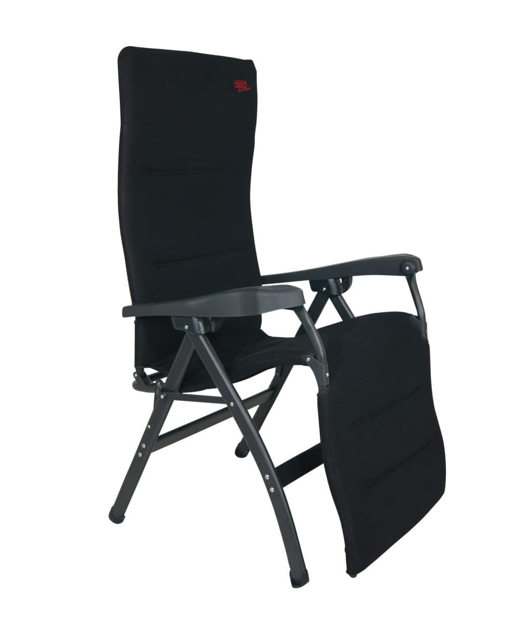 Crespo AP 242 Air deLuxe Relaxstoel Zwart