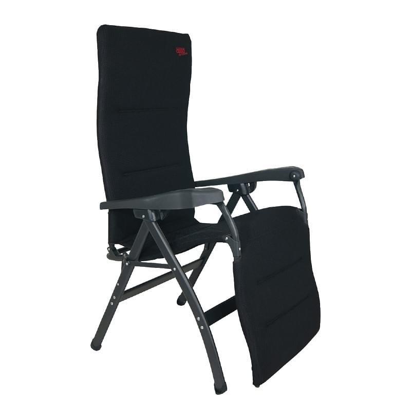 Crespo AP-242 Air Deluxe Relaxstoel Zwart