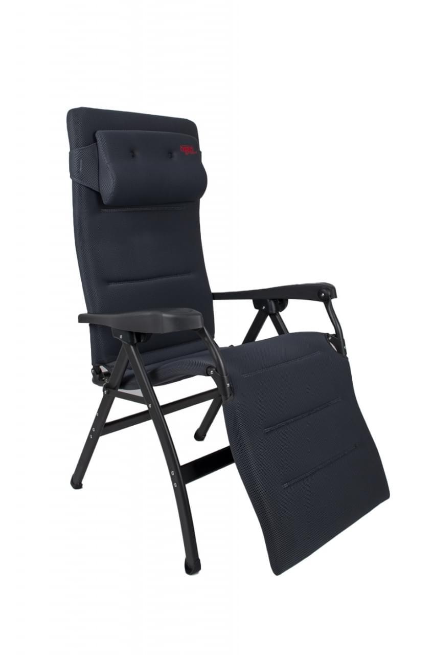 Crespo AP 242 Air deLuxe Relaxstoel Grijs