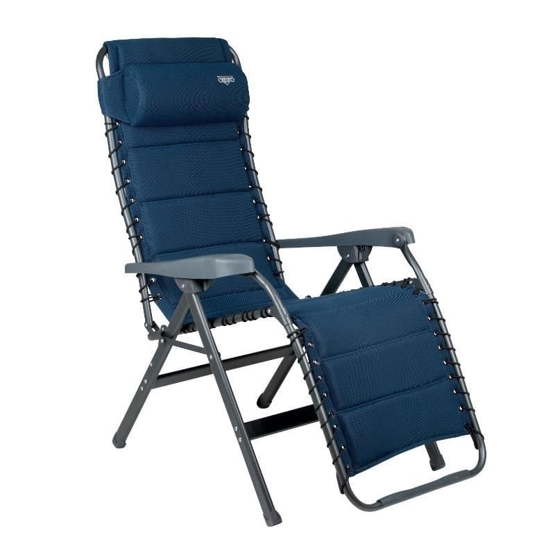 Crespo AP-232 Air Deluxe Relaxstoel Blauw