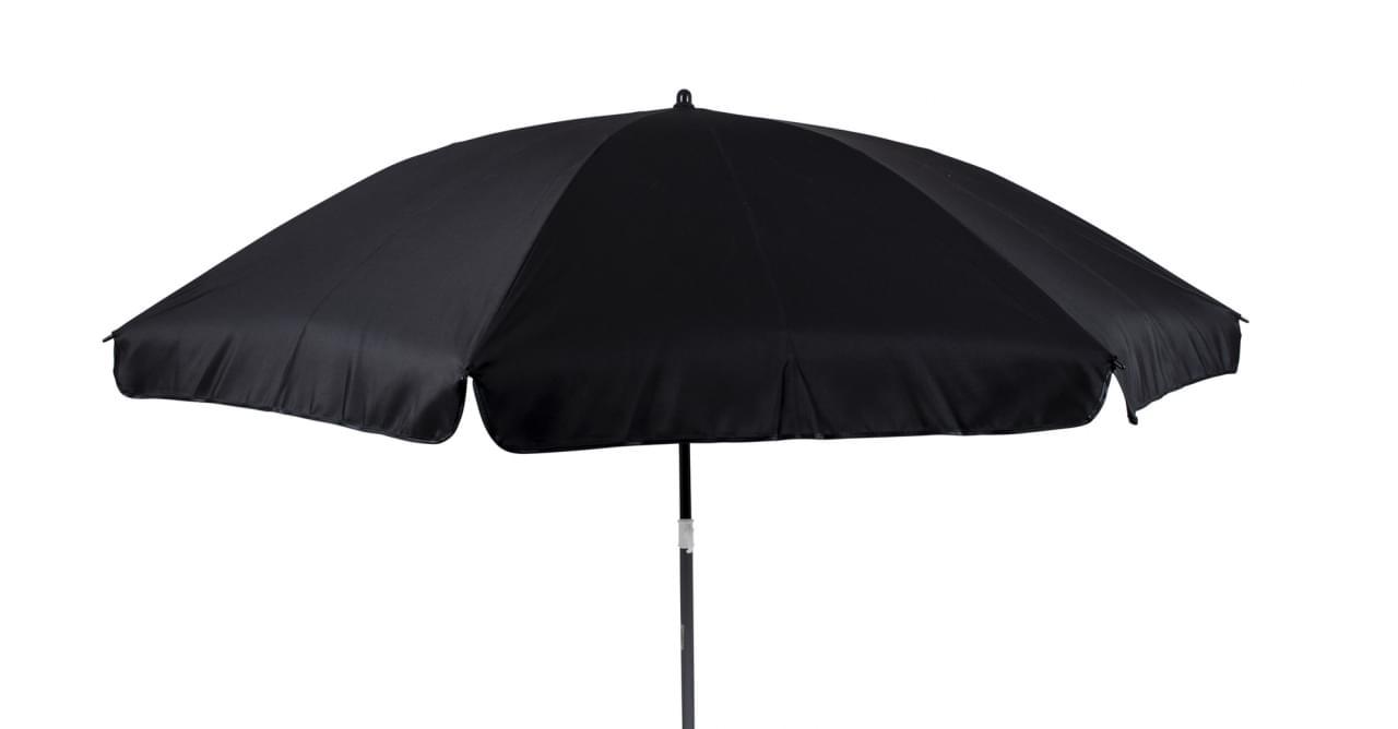 Bo-Camp Parasol met knikarm �250 Zwart