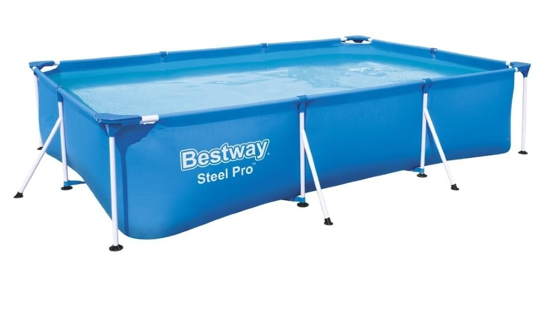 Bestway Zwembad Steel Pro Set Rechthoek 300